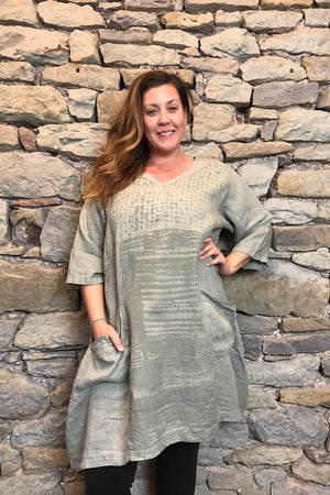 Frenchtown Lauren Linen Dress