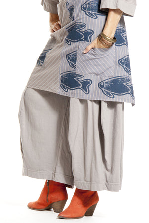 Layer Wrap Printed-Blue Fish Clothing