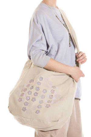 Heavy Linen Day Bag Printed