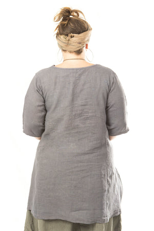 Zen Tunic UnPrinted-Blue Fish Clothing