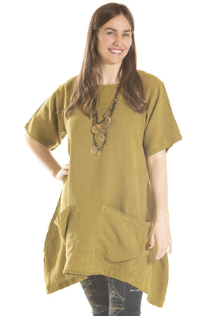 Rosita Tunic UnPrinted-Blue Fish Clothing