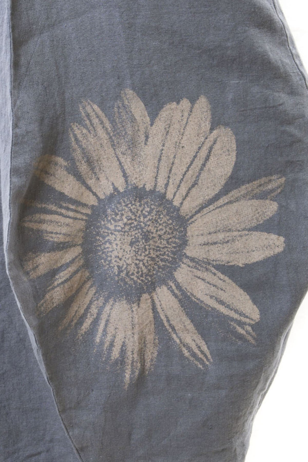 Hand Printed Giant Daisy