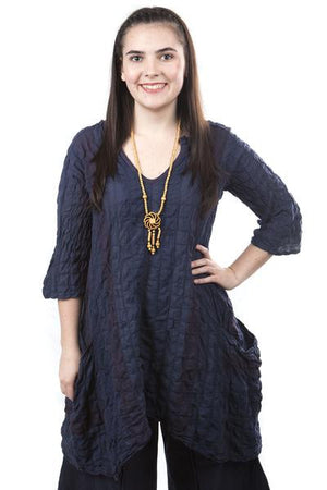 Morning Glow Tunic Indigo UnPrinted