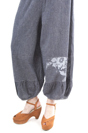 Striped Meadow Pant Printed-Blue Fish Clothing
