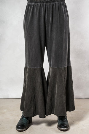 Distressed Flare Pant UnPrinted-Blue Fish Clothing