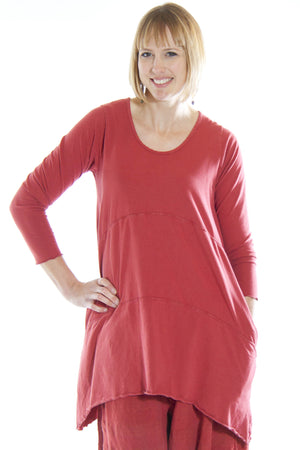 Shape Tunic UnPrinted-Blue Fish Clothing