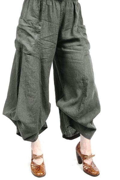 Linen Billow Pant UnPrinted- Blue Fish Clothing