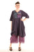 7213 Lucky Striped Dress-Orchid/Indigo-P