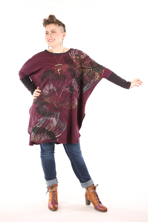 2251 Natural City Tunic-Jam- Layered Colors Symphony