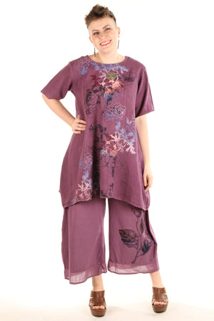 3288 Nepenthe Pant-Orchid Printed