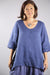 2183 Relaxed Linen Top-Deep Blue Sea-U