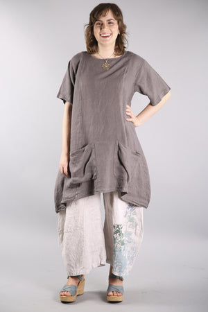 Sea Clouds Linen Dress Sandstar 2261-U