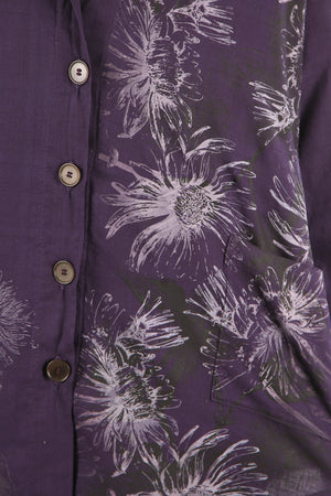 2286 Gallery Workshirt- Royal Purple-Botanicals