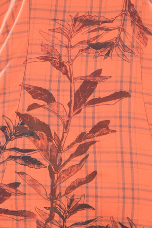 2276 Plaid Bliss Top Persimmon-P