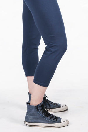 3137-Cropped Legging Indigo