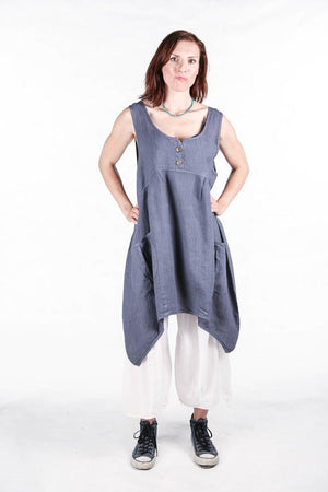 6185-Mulberry Mid Layer Linen Reflection-Unprinted