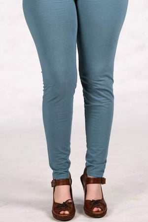 3101 Lightweight Legging Kingfisher-Unprinted