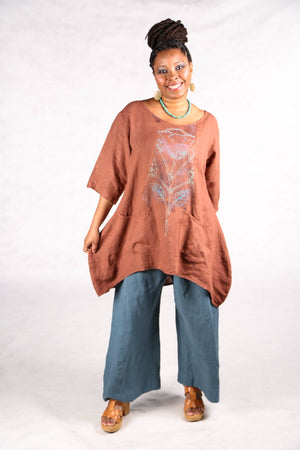 2265  Pinch Pocket Tunic Mojave-P