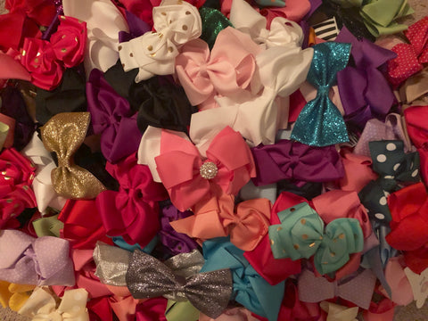 Boutique Hair Bow GRAB BAG! 20 bows