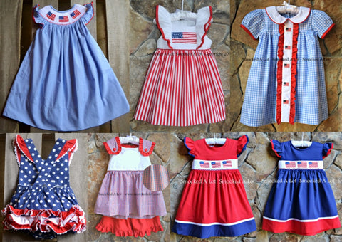 443de2b51 Red/White/Blue Outfit GRAB BAG! Only $16.99!