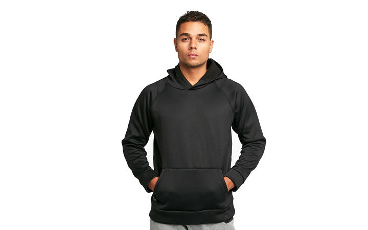 Tech Pullover sizing on model