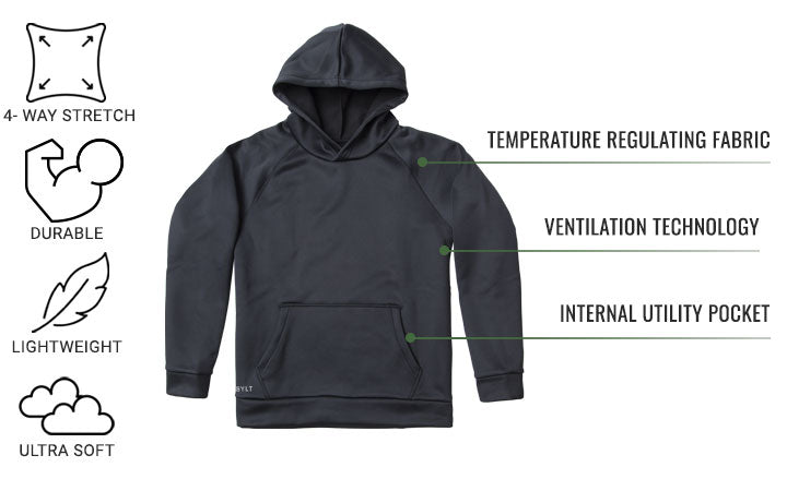 Men's Tech Pullover | BYLT BAsics