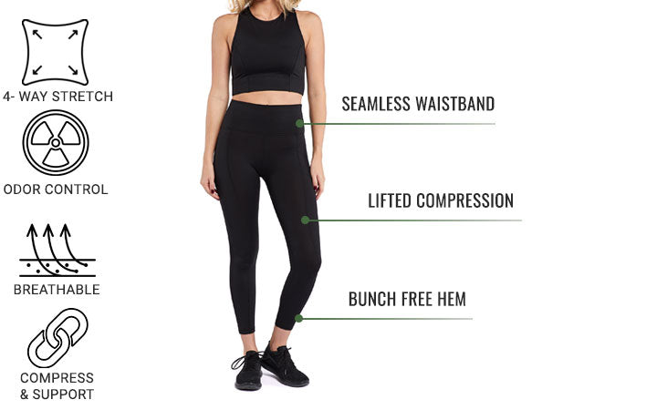 Women's Everyday Leggings by BYLT Basics