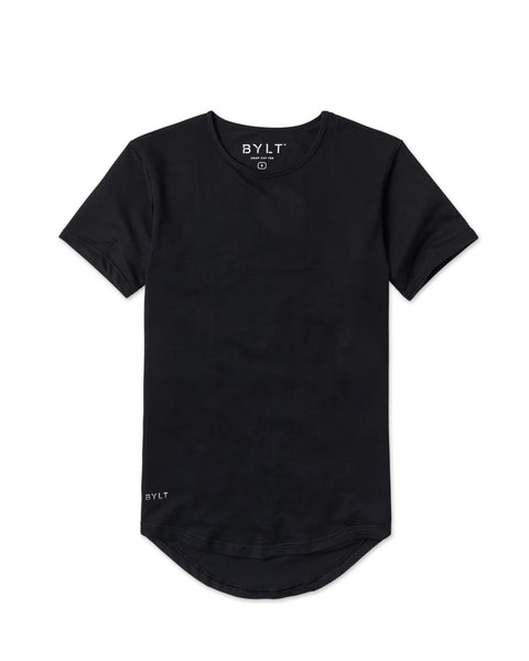 BYLT (BUILT) APPAREL BASICS DROPCUT TEE.