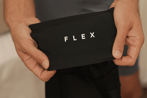 Men's flex trunk boxers that stretches and fits comfortably by BYLT Basics.