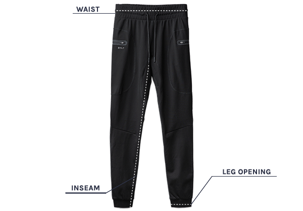 Elite+ Joggers Size Guide