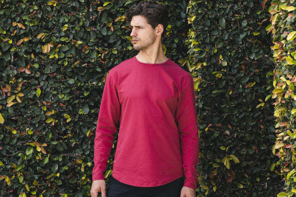 Slim Fit - Everyday Fit Drop-Cut Long Sleeve