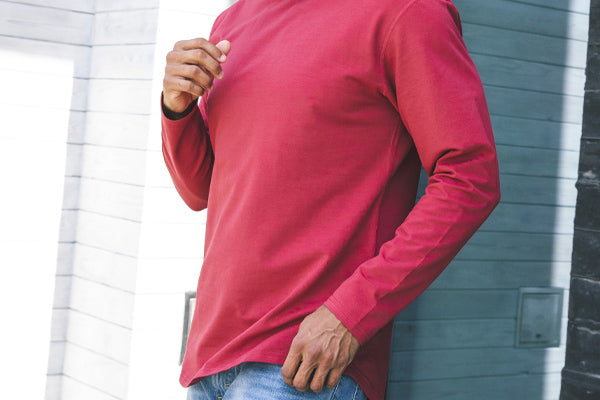 Shorter Length - Everyday Fit Drop-Cut Long Sleeve
