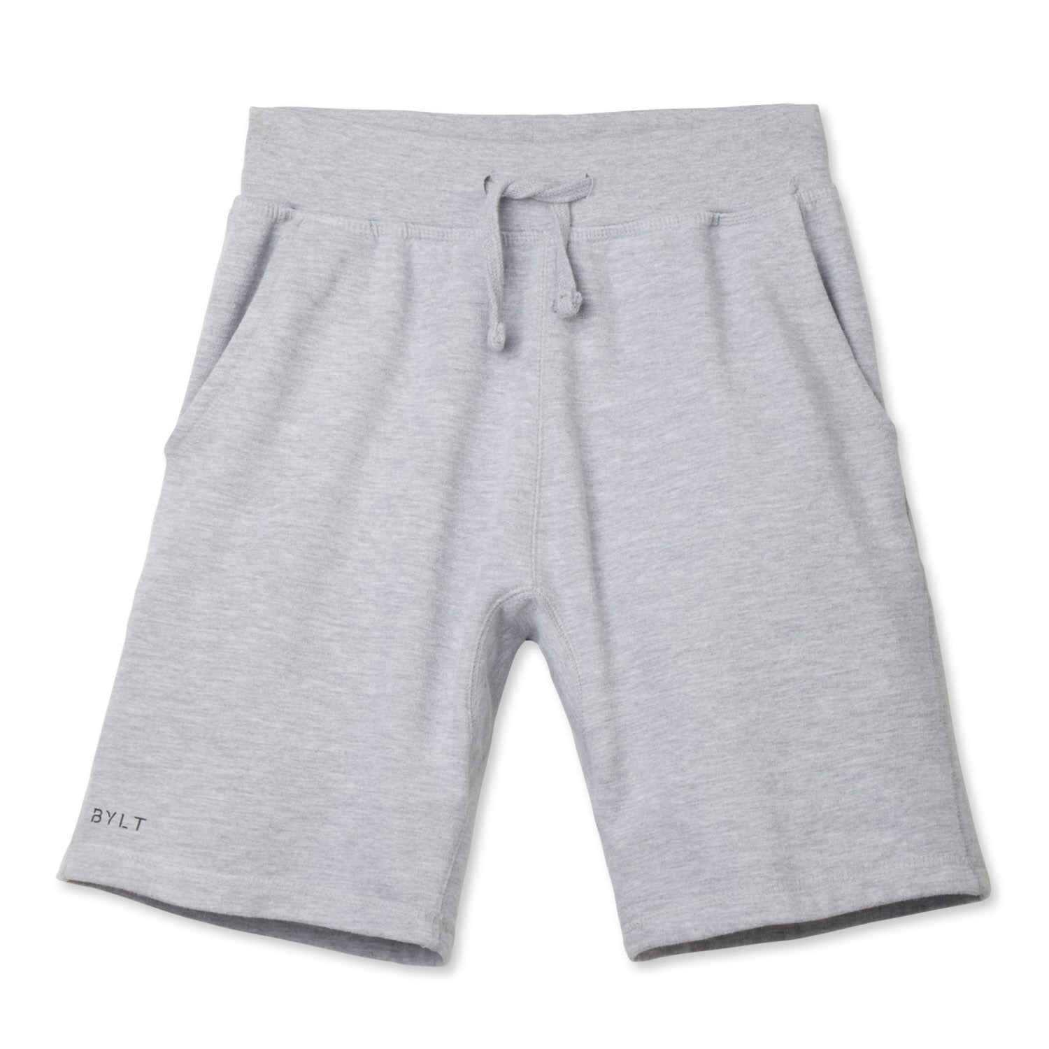 BYLT (BUILT) APPAREL BASICS JOGGER SHORT GRAY