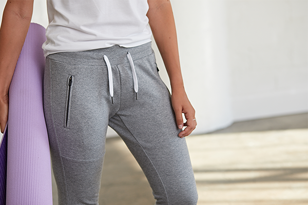 Women's Premium Jogger Pants with Athletic Fit by BYLT Basics