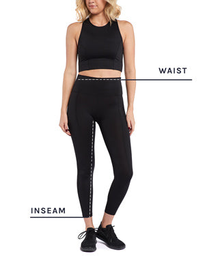 Women's Everyday Leggings Size Chart