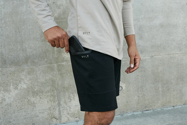 Utility Side Pockets | Premium Jogger Shorts | BYLT Basics