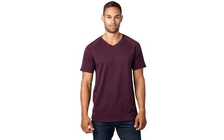 Men's Premium V-Neck T-Shirt by BYLT Basics