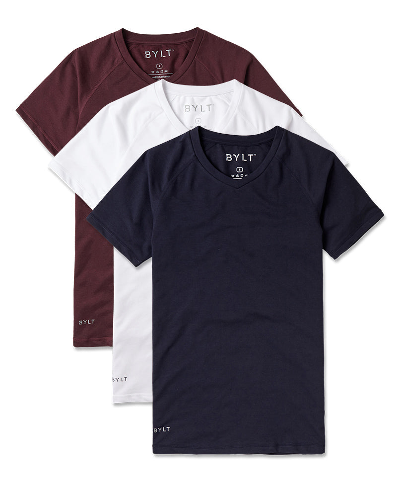 Premium V-Neck Shirt - Custom 3 Pack