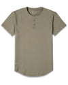Henley Drop-Cut: LUX Olive