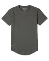Henley Drop-Cut: LUX Charcoal