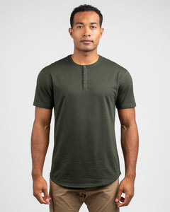 Forest - Drop-Cut Henley