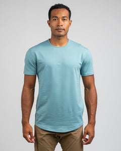 Slate - Drop-Cut Shirt