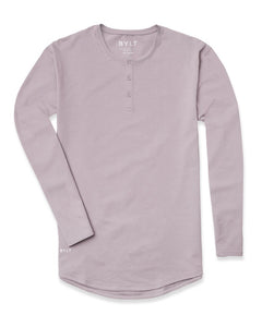 Iris - Henley Drop-Cut Long Sleeve