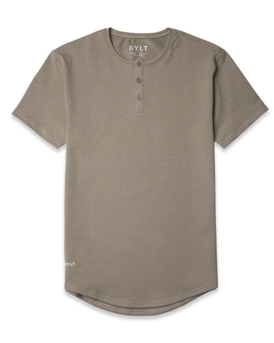 Henley Drop-Cut <!-- Size S --> Olive