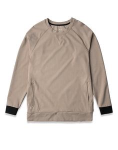 Sand - Elite+ Crewneck Sweatshirt