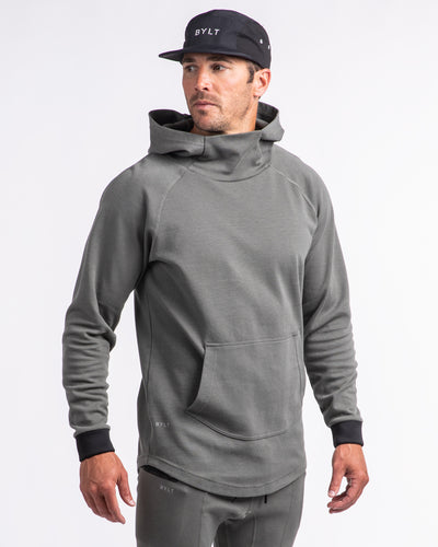 Men's Premium Drop-Cut Pullover (FINAL SALE) Gunmetal