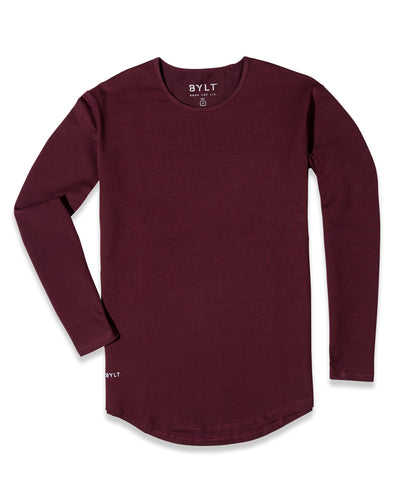 Drop-Cut Long Sleeve: LUX <!-- Size S --> Drop-Cut Long Sleeve: LUX <!-- Size S -->