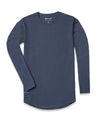 Drop-Cut Long Sleeve: LUX <!-- Size S --> Midnight