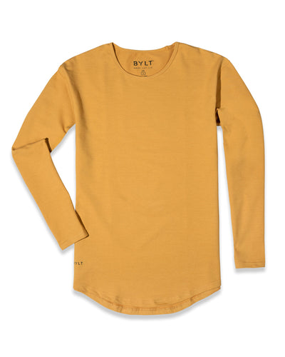 Drop-Cut Long Sleeve: LUX (A FINAL SALE) Mojave
