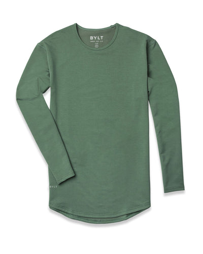 Drop-Cut Long Sleeve (A FINAL SALE) Pine